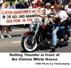 {Rolling Thunder at the White House}